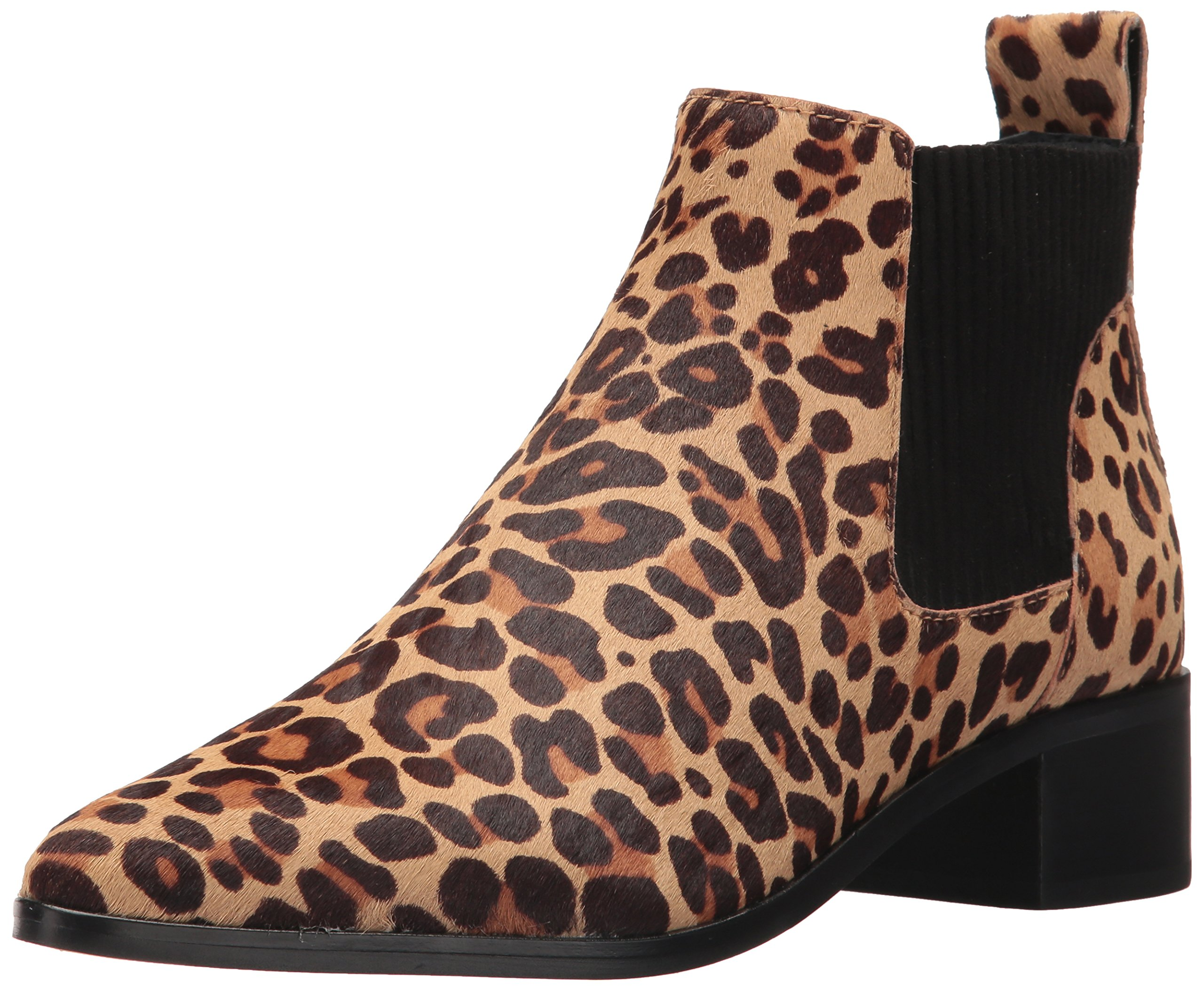 Dolce Vita Women's Macie 2 Fashion Boot, Leopard Calf Hair, 9.5 Medium US