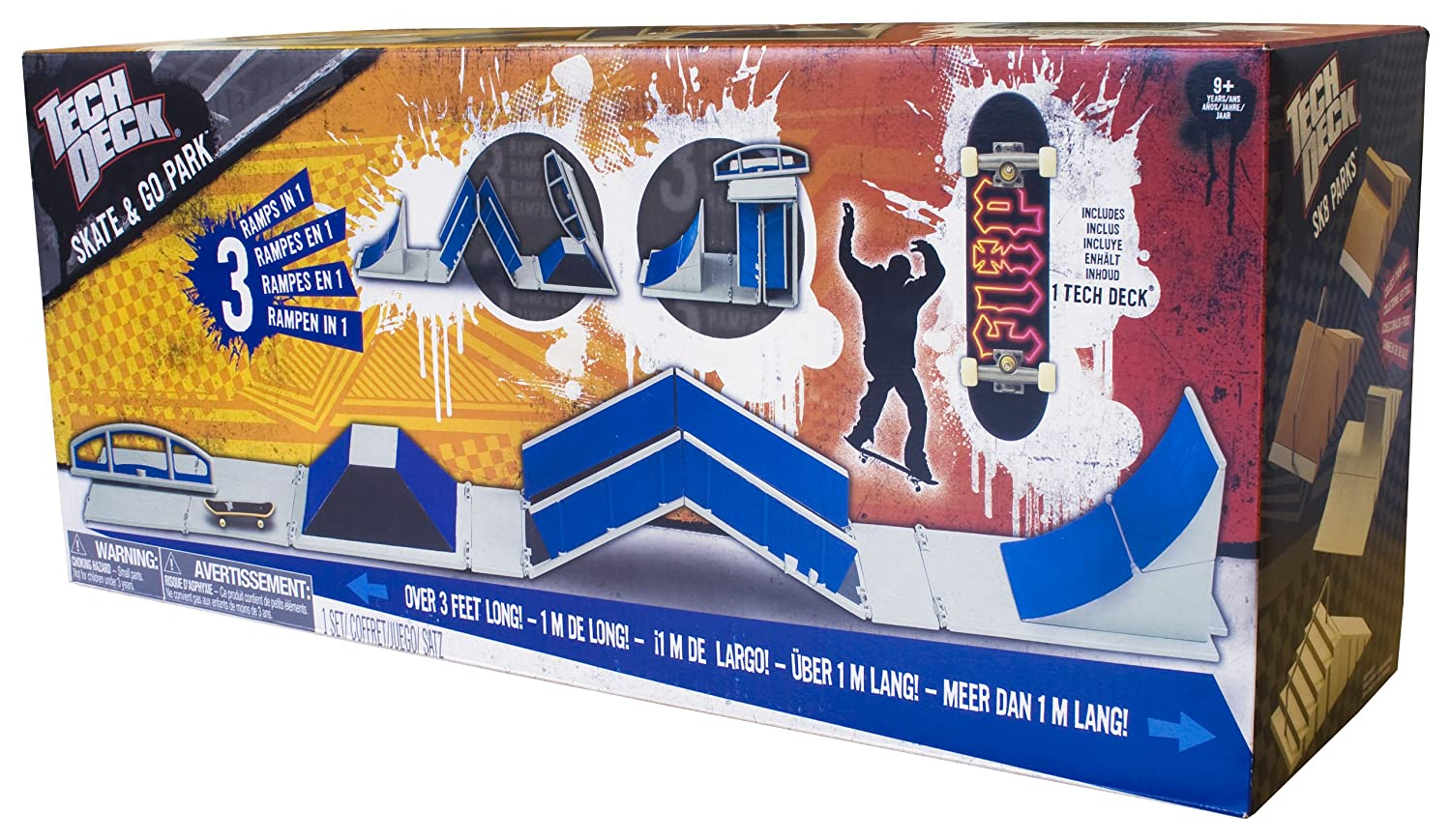 Tech deck skate and go park playset amazon toys games baanklon Gallery