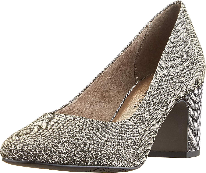 TALLA 36 EU. Tamaris 22458-21, Zapatos de Tacón para Mujer