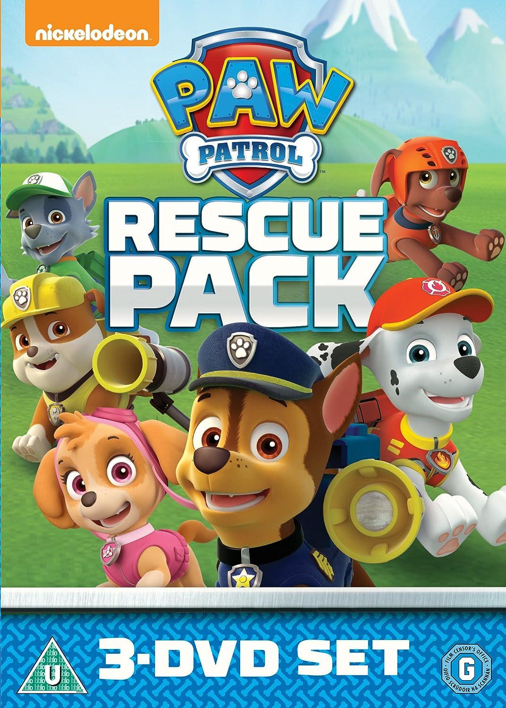 Paw Patrol 1 - 3 Rescue Pack Edizione: Regno Unito Reino Unido DVD: Amazon.es: Kallan Holley, Devan Cohen, Ron Pardo, Alex Thorne, Ätalo Luiz, Gabriela Milani, Max Calinescu, Drew Davis, Christian Distefano,