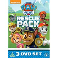 Paw Patrol: 1-3 Rescue Pack [DVD] [2016]