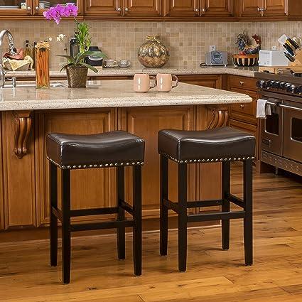 Pleasant Amazon Com Christopher Knight Home 238537 Louigi Brown Inzonedesignstudio Interior Chair Design Inzonedesignstudiocom