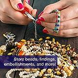 Elizabeth Ward Bead Storage Solutions: 82-Piece