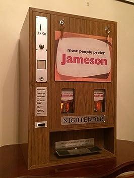 rare vintage 1970s irish whisky john jameson whiskey vending machine