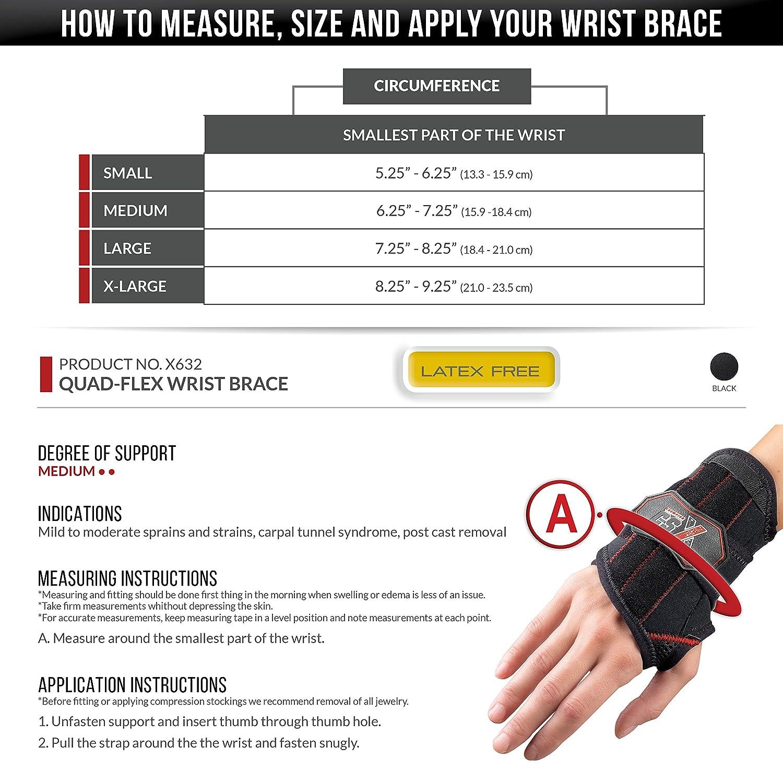 Amazon com: CSX Wrist Brace, Adjustable Compression Strap
