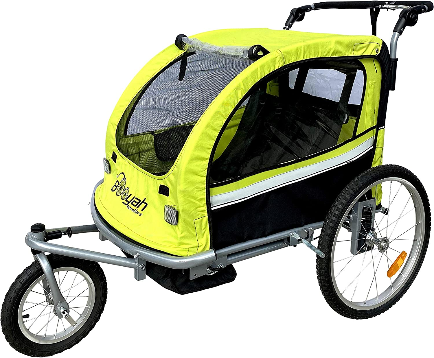 Booyah's 3 in 1 Trailer, Jogger and Stroller