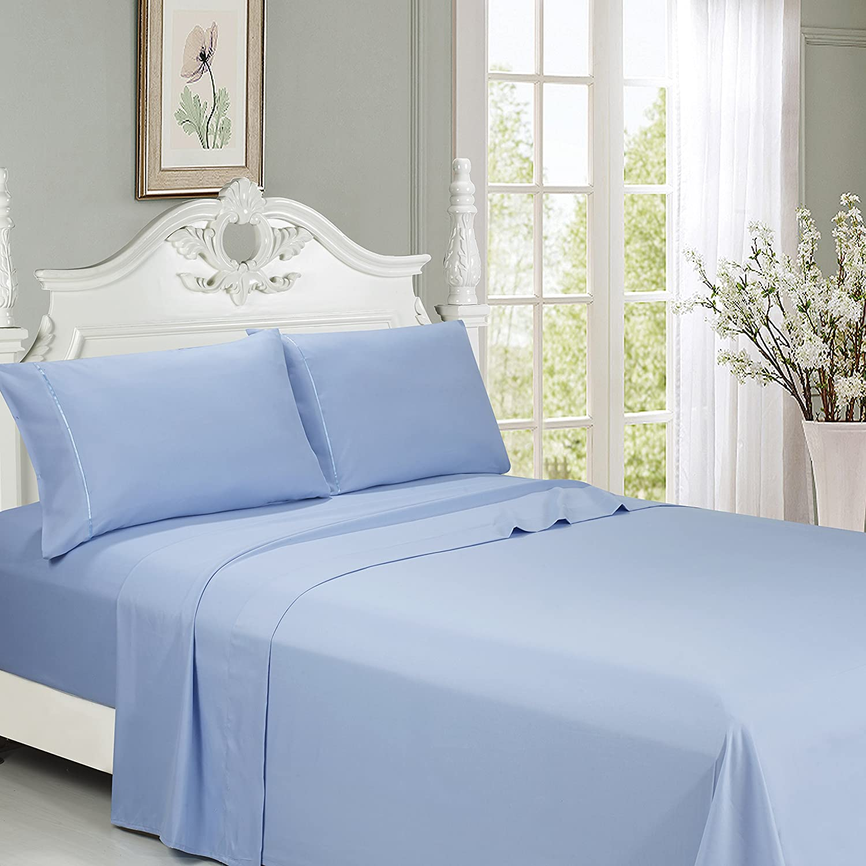 King Blue 2800 Series 6pcs Sheet Set