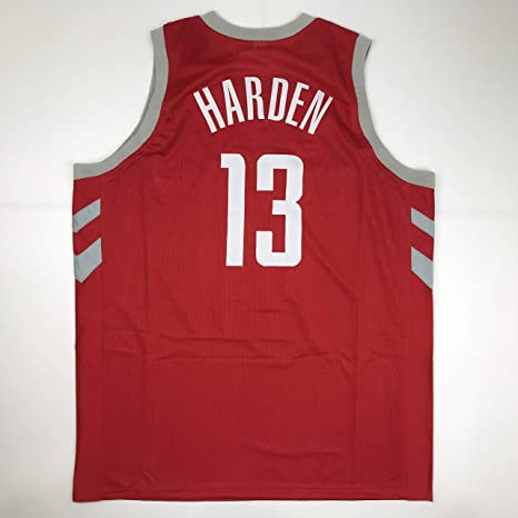 b9351166e Unsigned James Harden Houston Red Custom Stitched Basketball Jersey Size  Men s XL New No Brands