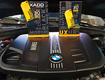 Aceite de motor de Xado, antifricción 5W30 premium de alto rendimiento SM/CF, aceite sintético, protección de motor de la clase extra.