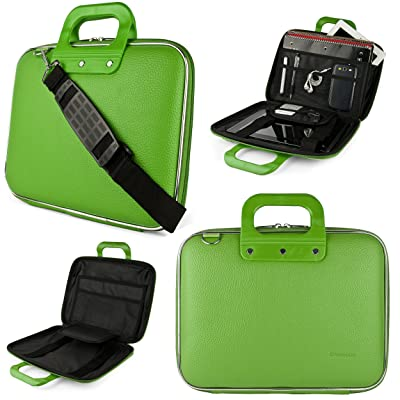 """well-wreapped Lime Green SumacLife Cady Messenger Bag for Dell Inspiron / Latitude / XPS / Precision 15.6"""" Laptops"""