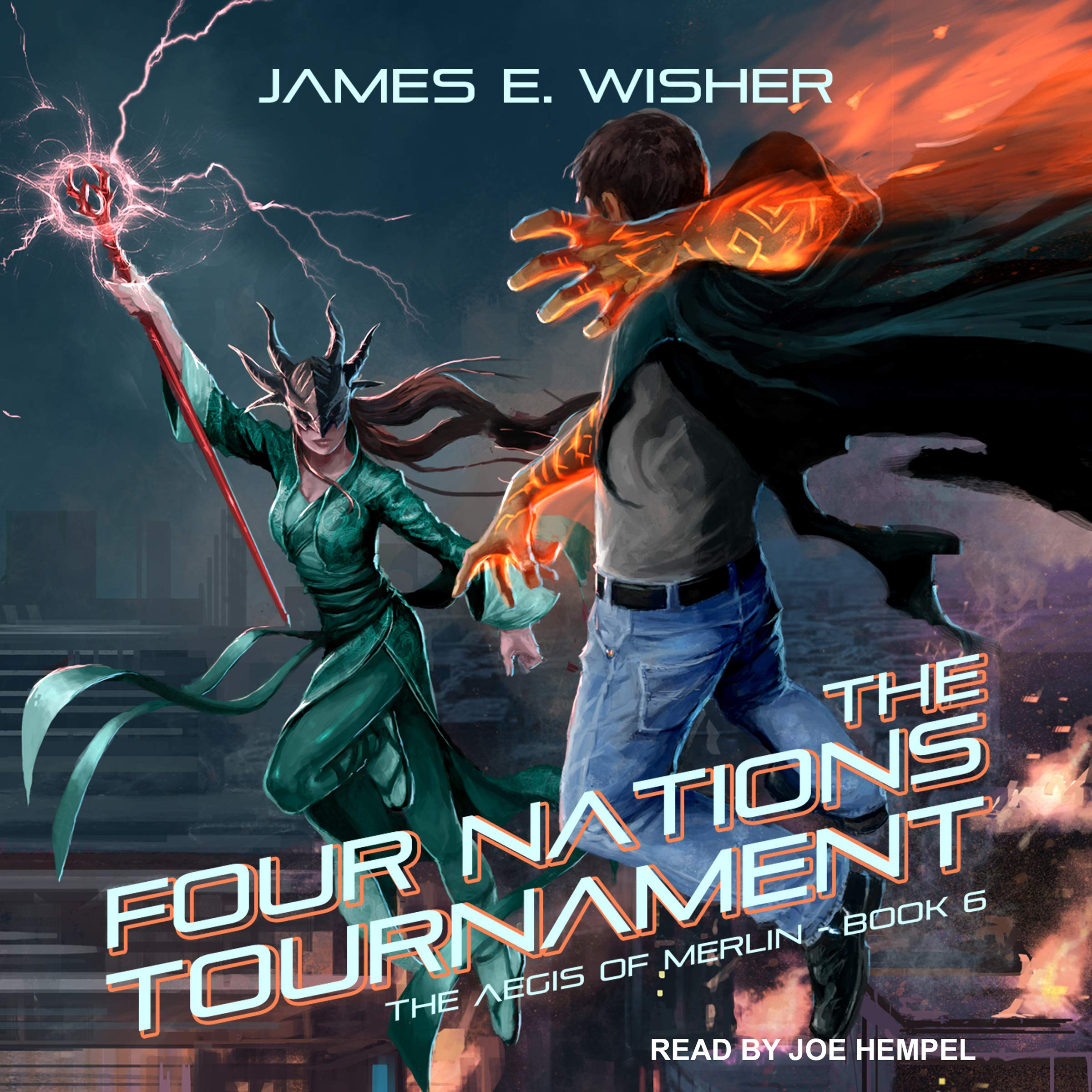 The Four Nations Tournament: Aegis of Merlin Series, Book 6