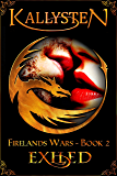 Exiled: A Dragon Shifter Novel (Firelands Wars)