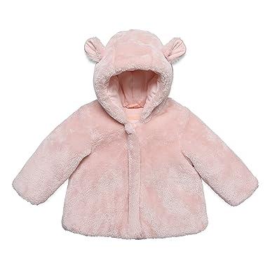 4348c0991b ESPRIT KIDS Baby-Mädchen RK44011 Jacke, Rosa (Pastel Pink 312), 74 ...