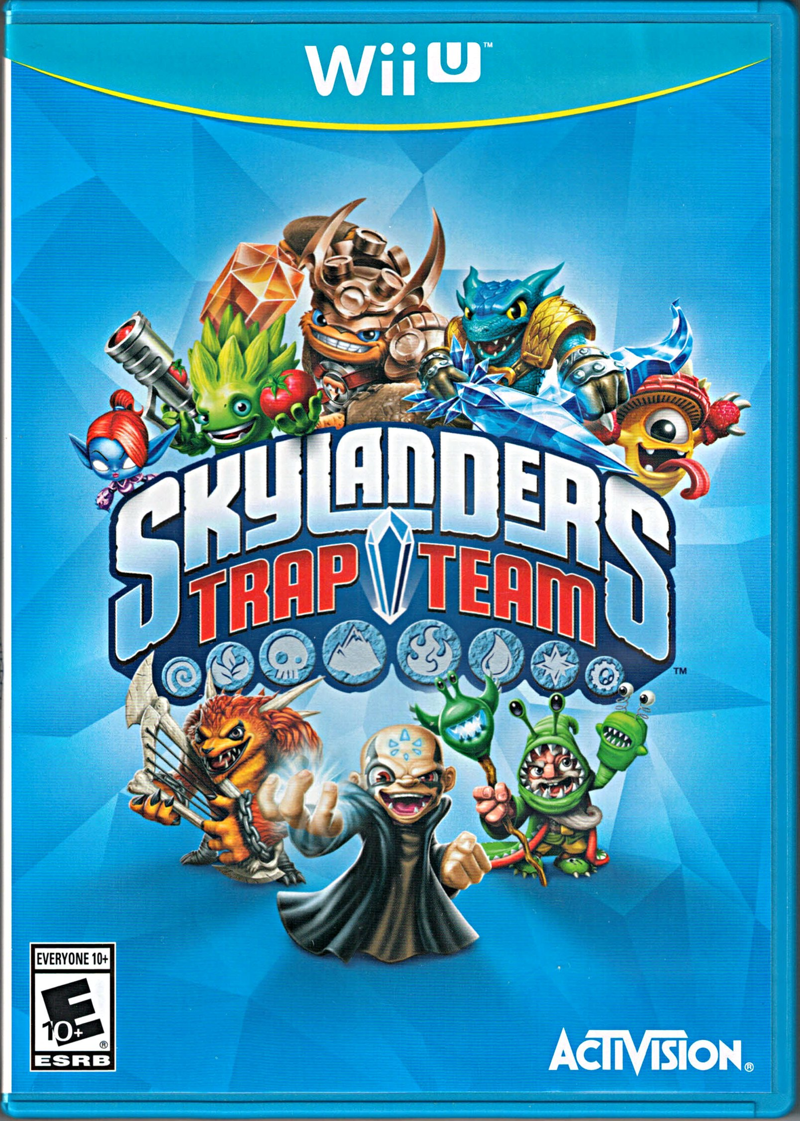 Uncategorized Skylanders Trap Team Videos amazon com skylanders trap team replacement game only for wii u u