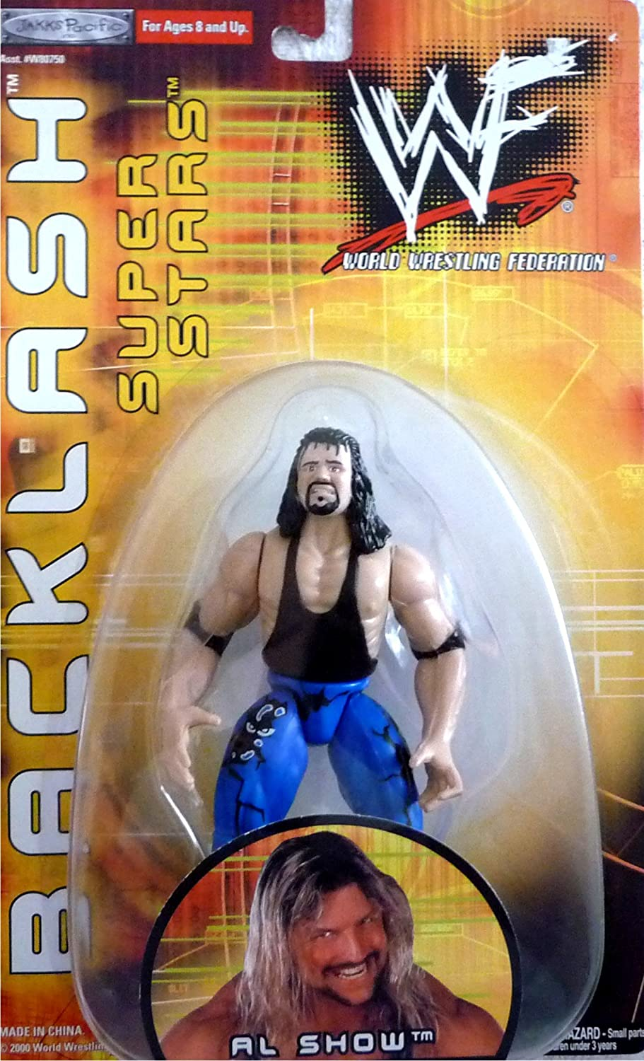 AL SNOW WWE WWF Wrestling Exclusive Backlash Toy Figure by Jakks Pacific