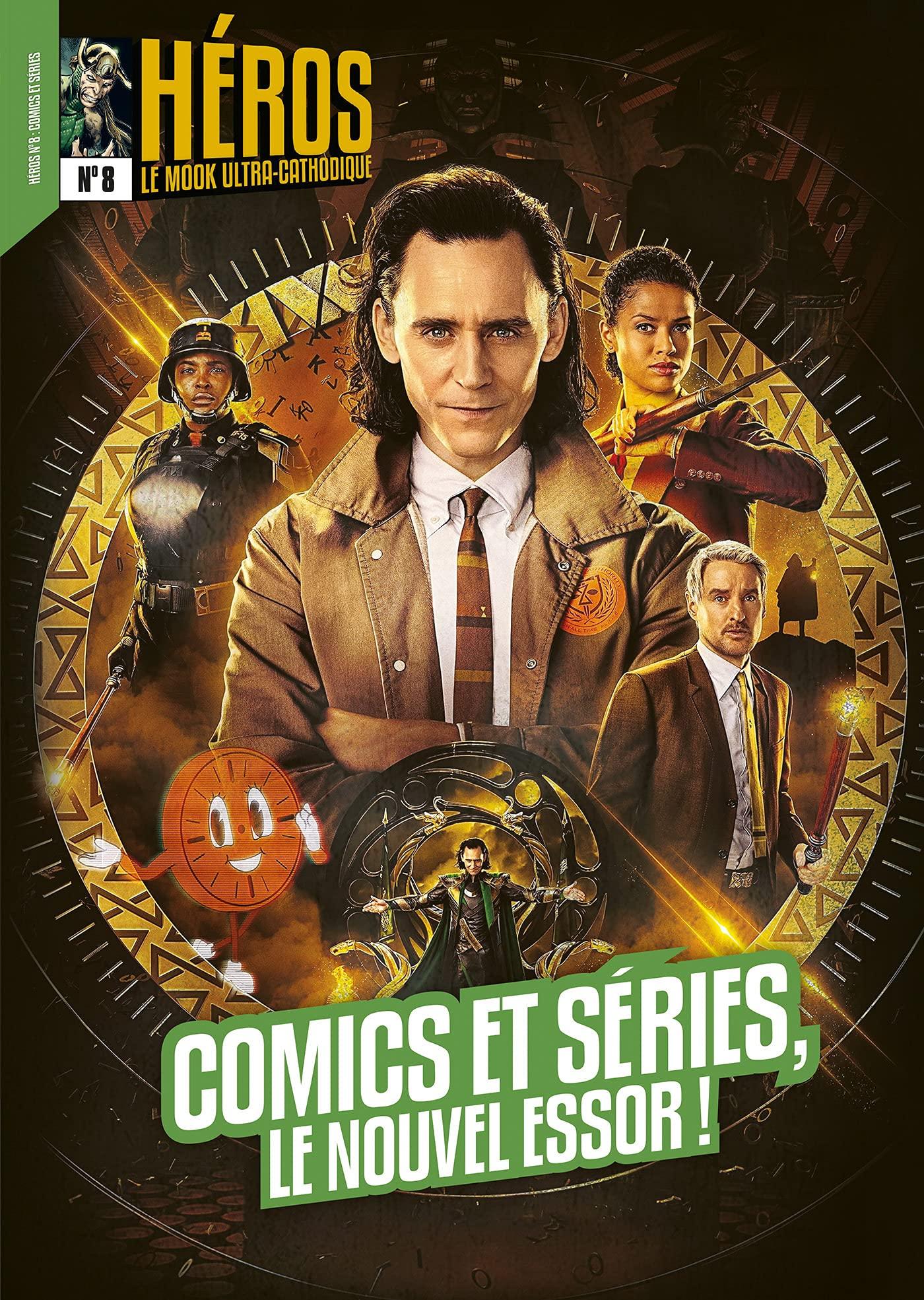 Héros : Comics et séries, le nouvel essor !
