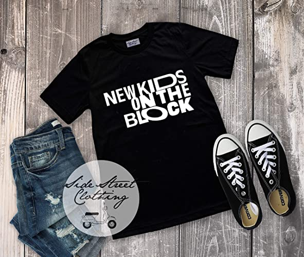 0228b1178 New Kids on the Block Logo T shirt - Women, Men, youth, baby, personal  trainer, Gift for friend, concert, band, rock and roll, 90s pop, NKOTB the  ...