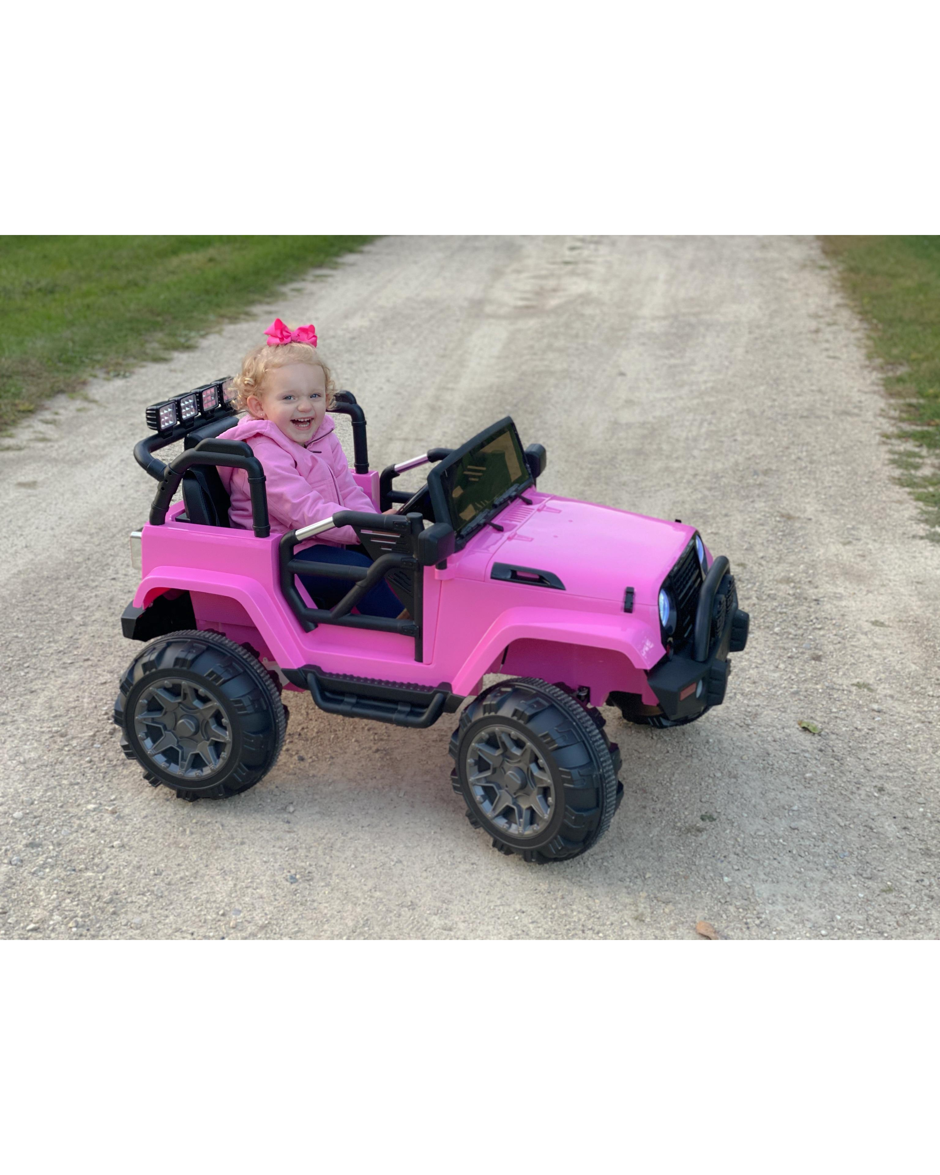 12V Battery Ride on Jeep Truck with 3 Speed photo review