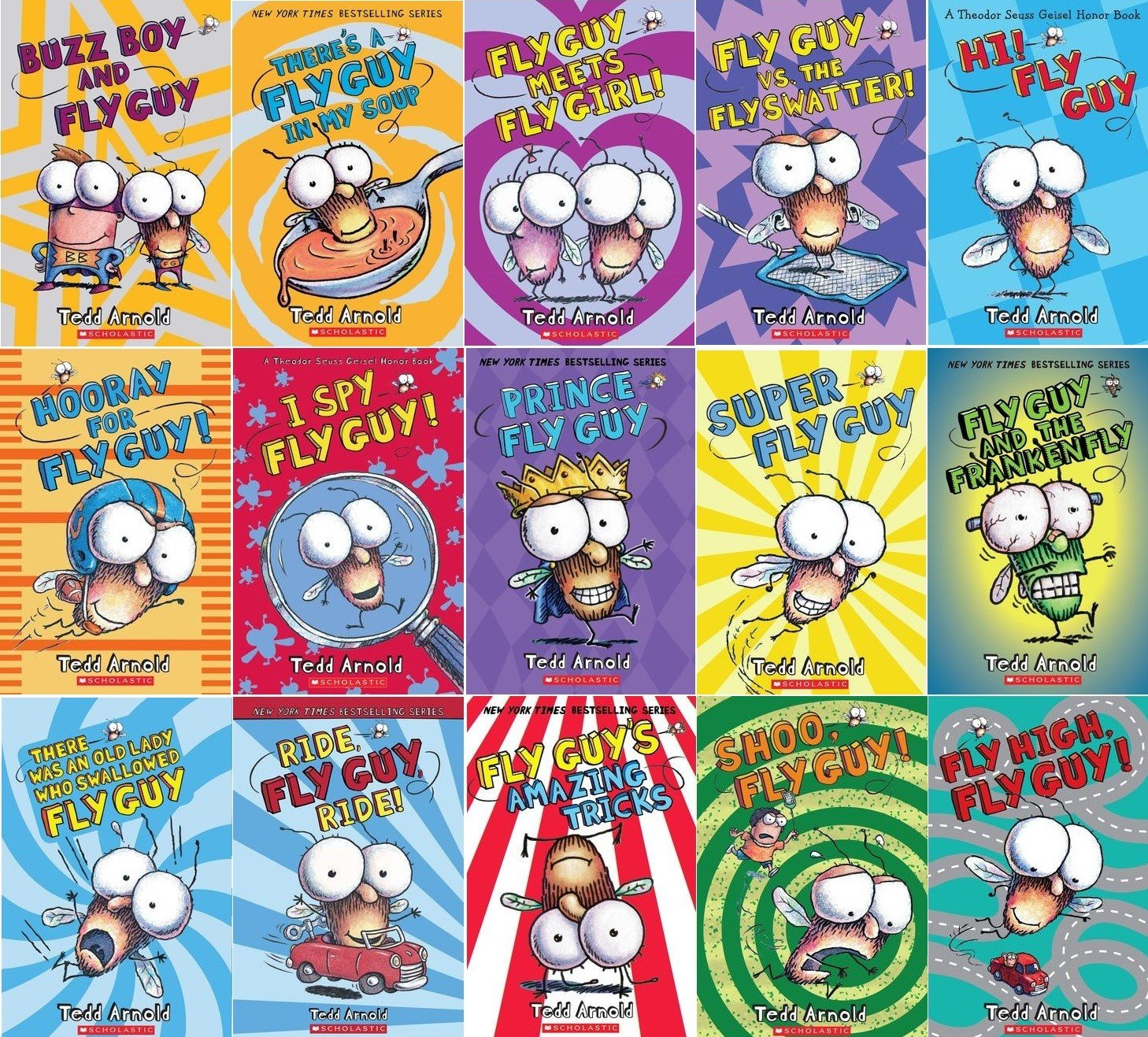 Fly Guy 15 Book Collection: Todd Arnold: 9781338147032: Amazon.com: Books