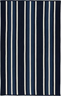 product image for Colonial Mills Mesa Stripe Braided Rug, 2' X 4' , Navy Pier