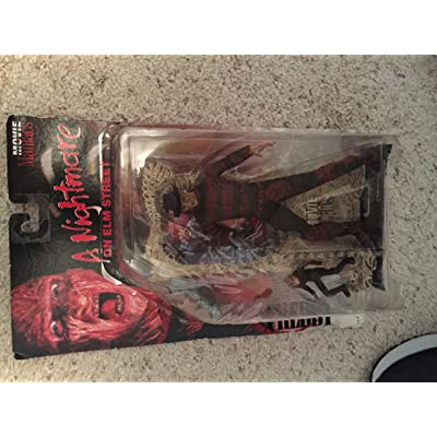 Movie Maniacs 4: Freddy Krueger A Nightmare On Elm Street Action Figure: Toys & Games