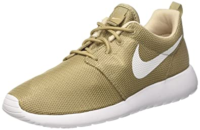best service 53afb 28e71 NIKE Men s Roshe One Khaki White Oatmeal White Running Shoe 8 Men US