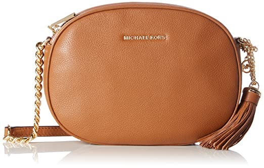87fbad220172 Amazon.com: MICHAEL Michael Kors Women's Medium Ginny Messenger Bag ...