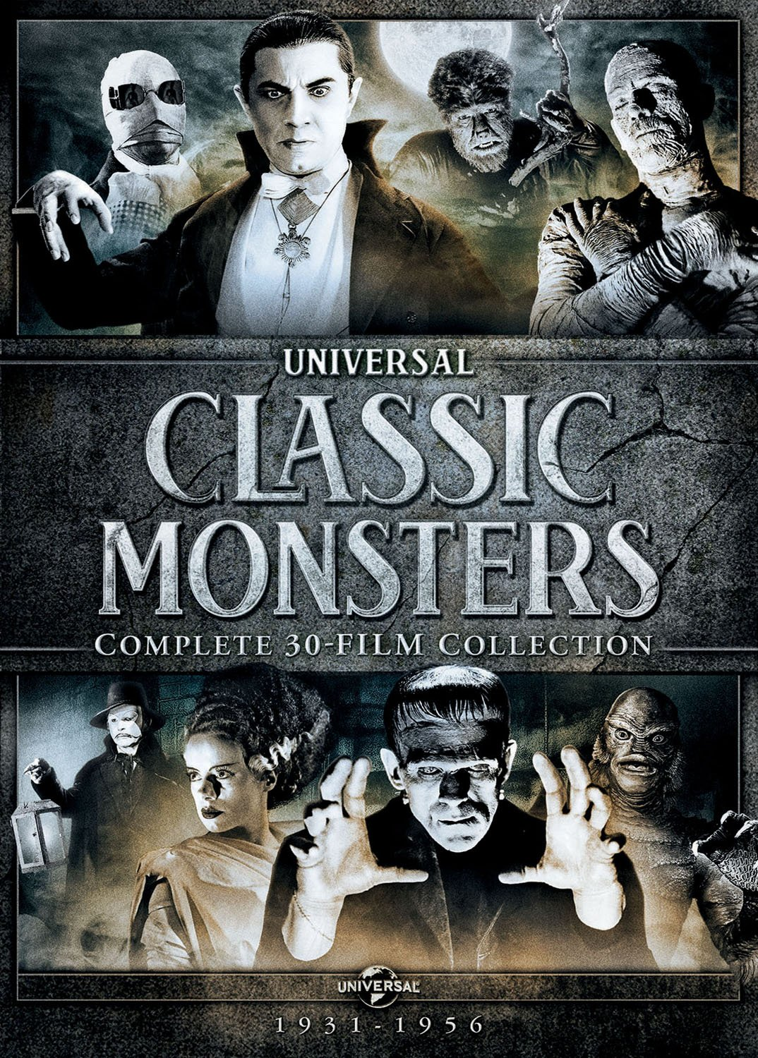 Amazon Com Classic Monsters Complete 30 Film Collection Bela Lugosi Boris Karloff Claude Rains Lon Chaney Jr Hal Mohr W Howard Greene Arthur Lubin Carl Laemmle Jr Bernard B Brown Garrett Fort John L
