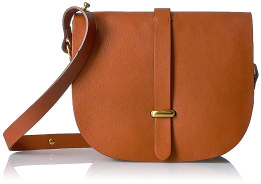 967bf74e45 Liebeskind Berlin Women s Adaja Vachetta Leather Saddle Bag ...