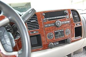 Chevrolet Chevy Silverado Interior BURL Wood Dash Trim KIT Set 2010 2011 2012 2013