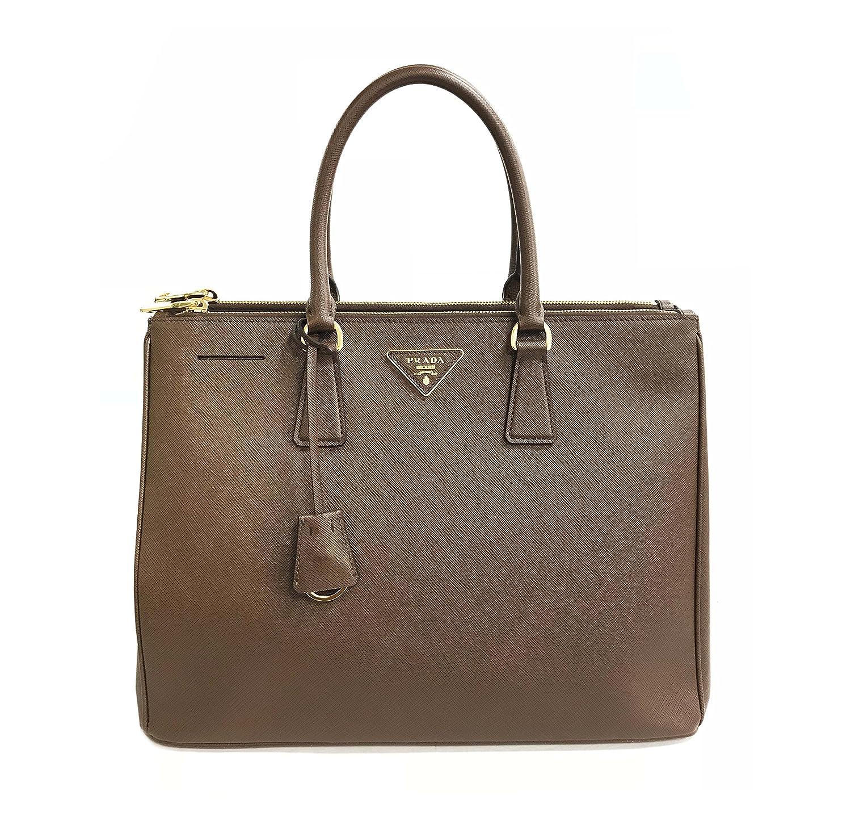 0b06a62e784e Amazon.com  Prada Galleria 1BA786 Large Saffiano Tote Women s Bag  Clothing