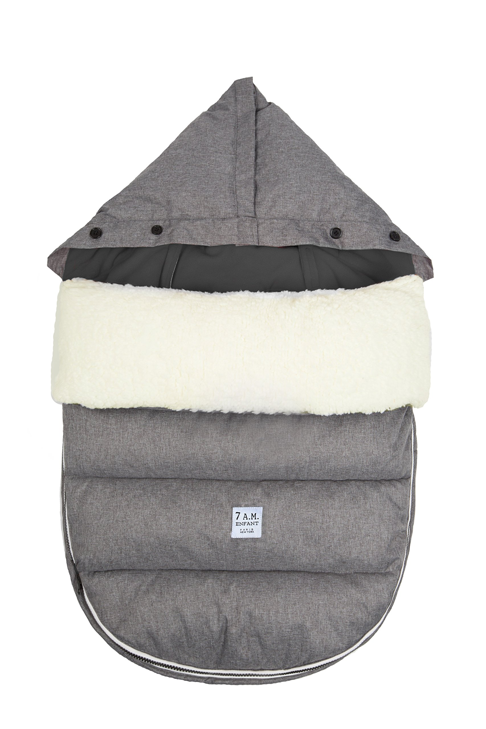 7 A.M. Enfant LambPod (Small/Medium, Heather Grey)