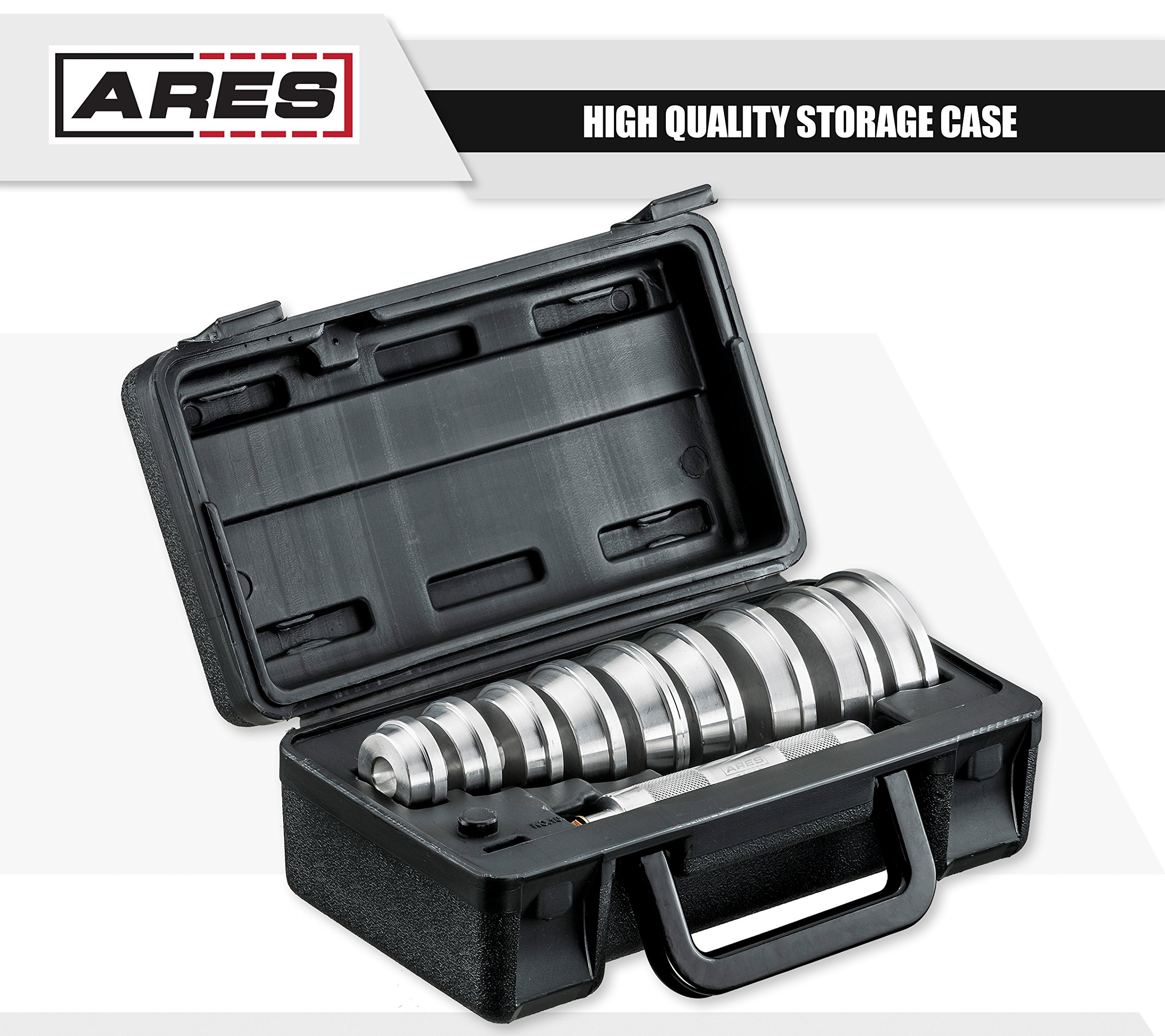 ARES 71003 | Bearing Race and Seal Driver Set | Universal Kit Allows for Easy Race and Seal Installation Storage Case Included by ARES (Image #4)