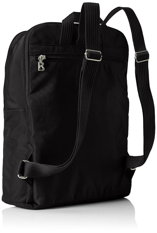 Damen Big Biking Rucksackhandtaschen, Schwarz (Black/Teak 090), 30x36x12 cm Bogner