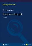 Kapitalmarktrecht (Schwerpunktbereich)