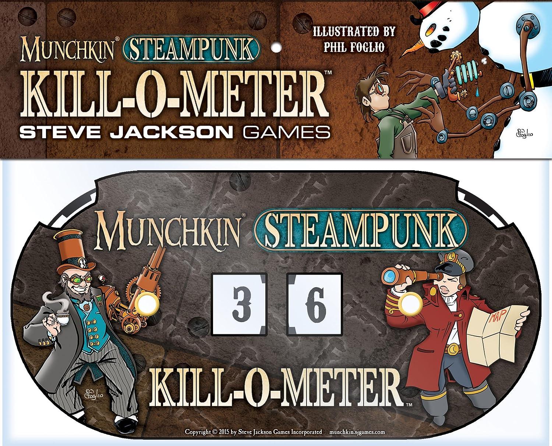 PSI Steve Jackson Games Munchkin Steampunk Kill-O-Meter Card Game Publisher Services Inc 5554SJG