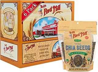 product image for Bob's Red Mill Resealable Organic Chia Seeds, 12 Oz (6 Pack)