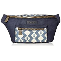 Women's Canopy Canvas Waist Pack, Zigzag River, One Size