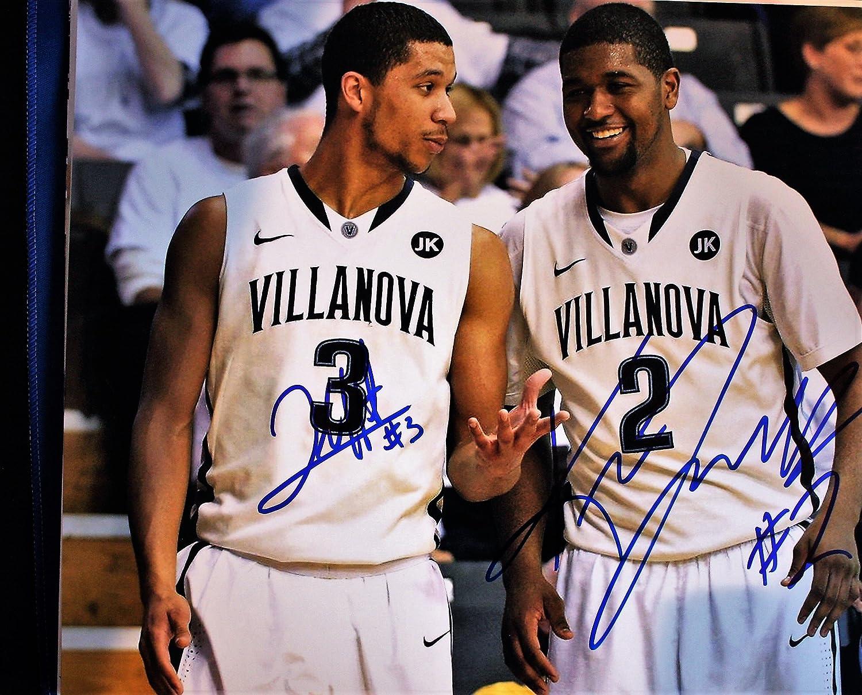 2120d18ad Autographed Josh Hart   Kris Jenkins 2015-16 Villanova University Basketball  11x14 photo with COA at Amazon s Sports Collectibles Store