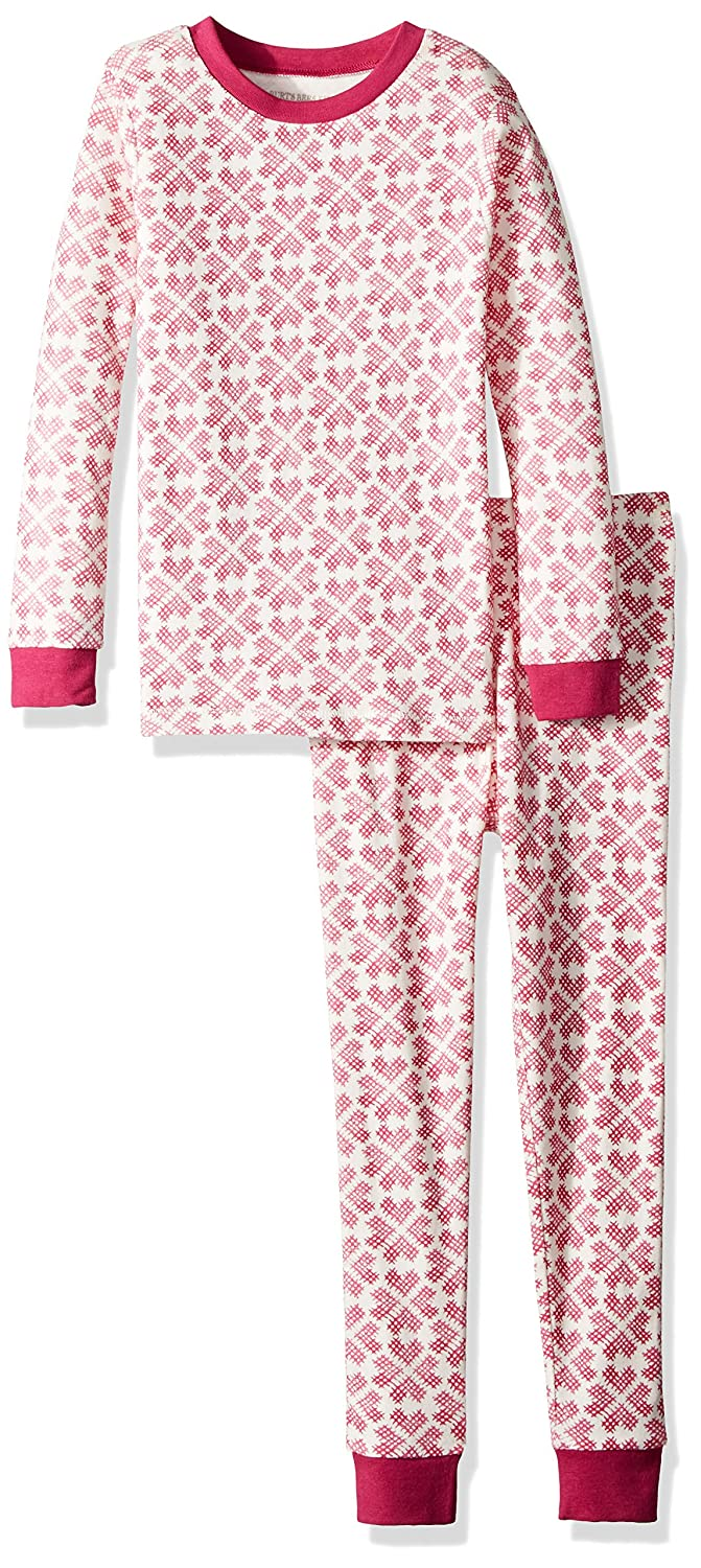 Burt's Bees Baby Unisex Pajamas, Tee and Pant 2-Piece PJ Set, 100% Organic Cotton TD25437