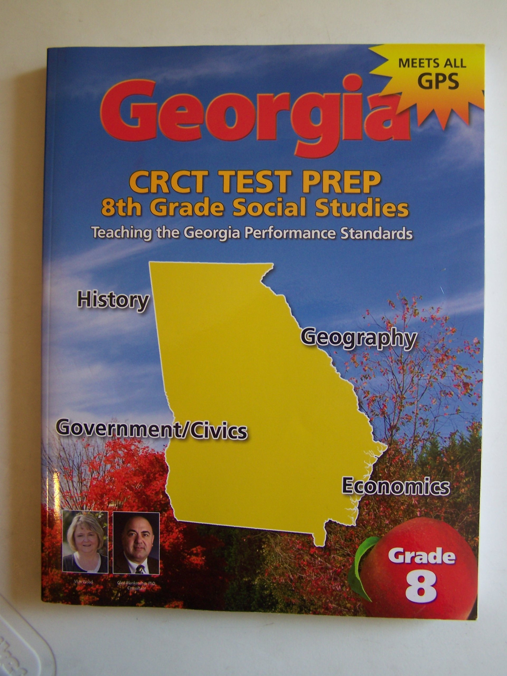 Georgia Crct Test Prep 8th Grade Georgia Studies: Glen