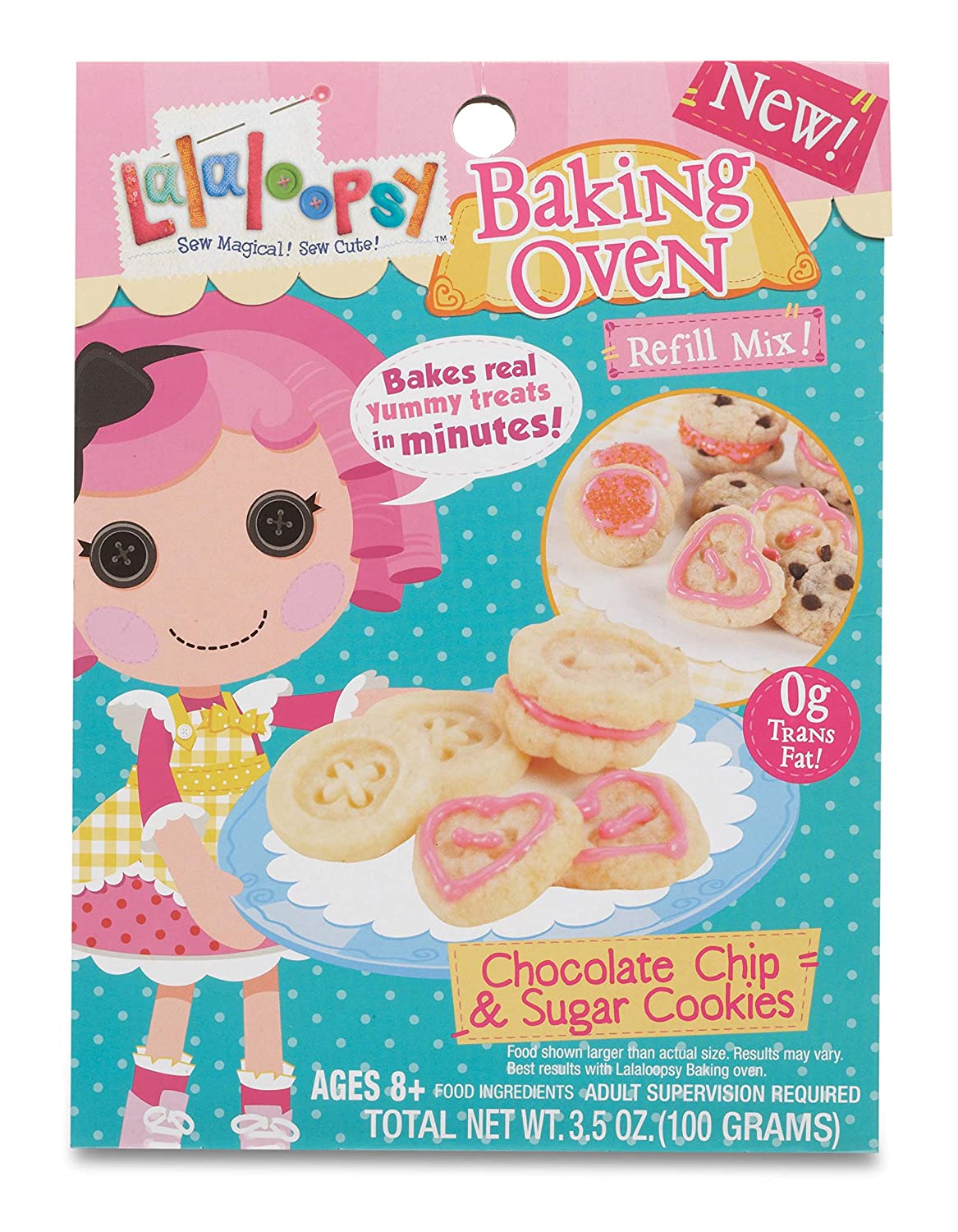 Amazon lalaloopsy baking oven mix chocolate chip sugar amazon lalaloopsy baking oven mix chocolate chip sugar cookies toys games forumfinder Images