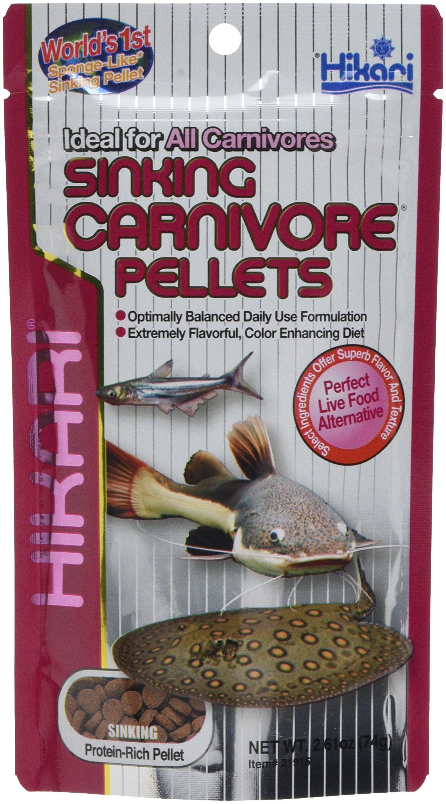 HIKARI Sinking Carnivore Pellets 74g *Pack of Two* - BUNDLE