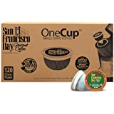 San Francisco Bay OneCup, Organic Rainforest Blend, 120 Count- Single Serve Coffee, Compatible with Keurig K-cup Brewers