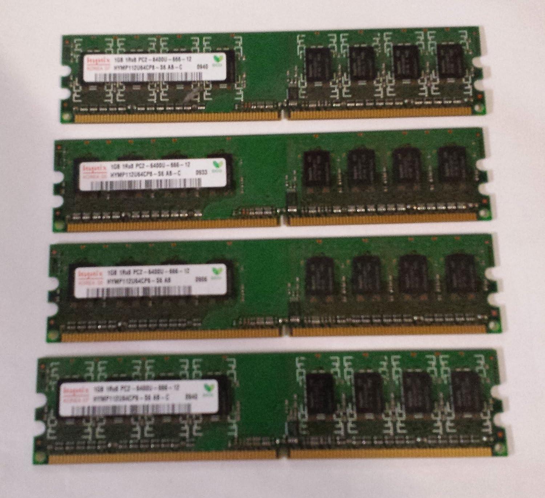 4GB (4x1GB) Ram Memory Dell Dimension E520 E520N E521 E521N