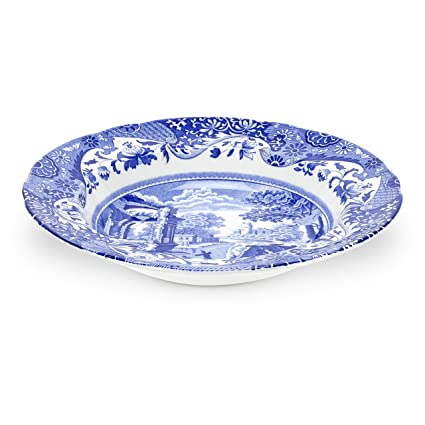 Finest Amazon.com: Spode Blue Italian Soup Bowl, Set of 4: Kitchen & Dining MT69