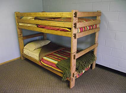 Amazon Com Stackable Twin Bunk Bed Kitchen Dining