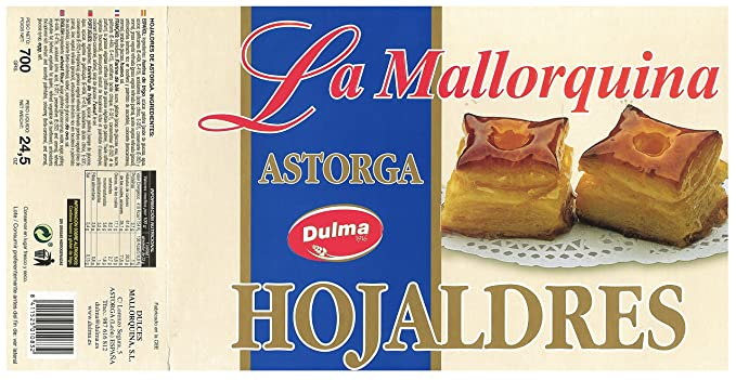 Hojaldres De Astorga La Mallorquina 700 G: Amazon.es ...