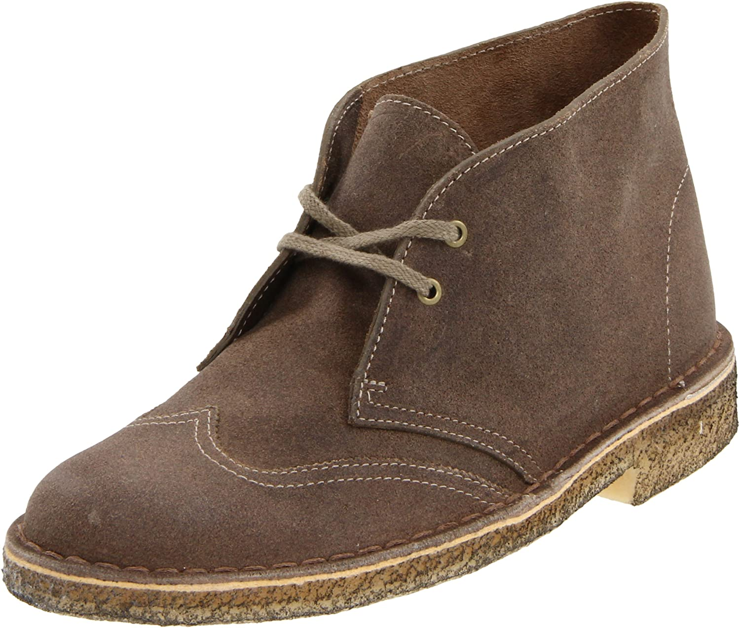 Clarks Womens Desert Wing Women Desert Boot Wing Tip