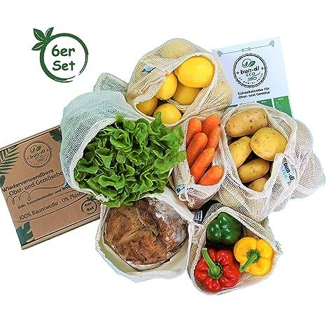 Bun de di Eco bolsas reutilizables de frutas y verduras ...